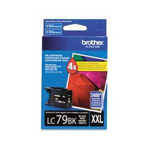 Original Brother LC79BK Black ink cartridge, Super High Yield