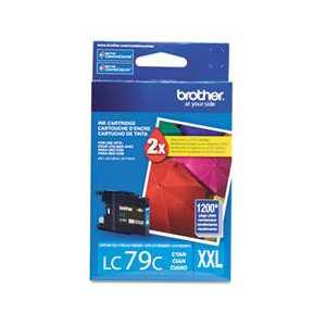 Original Brother LC79C Cyan ink cartridge, Super High Yield