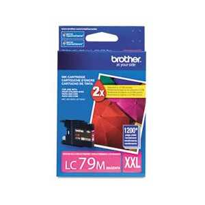 Original Brother LC79M Magenta ink cartridge, Super High Yield