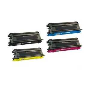 Compatible Brother TN115 toner cartridges, High Yield, 4 pack