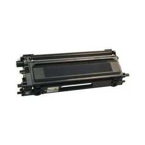 Compatible Brother TN115BK Black toner cartridge, High Yield, 5000 pages