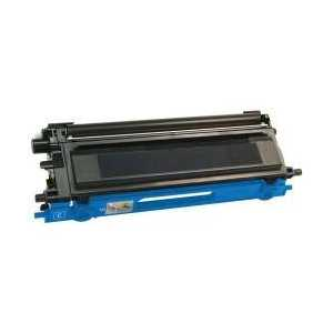 Compatible Brother TN115C Cyan toner cartridge, High Yield, 4000 pages