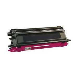Compatible Brother TN115M Magenta toner cartridge, High Yield, 4000 pages