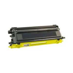 Compatible Brother TN115Y Yellow toner cartridge, High Yield, 4000 pages