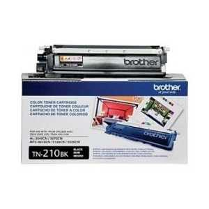 Original Brother TN210BK Black toner cartridge, 2200 pages
