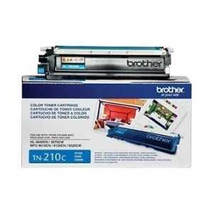Original Brother TN210C Cyan toner cartridge, 1400 pages