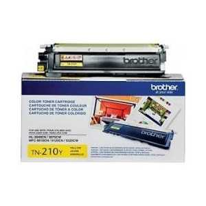Original Brother TN210Y Yellow toner cartridge, 1400 pages