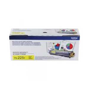 Original Brother TN225Y Yellow toner cartridge, High Yield, 2200 pages