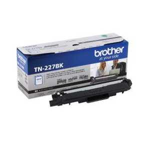 Original Brother TN227BK Black toner cartridge, 3000 pages
