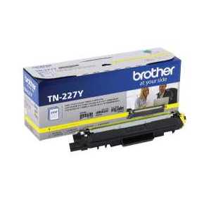 Original Brother TN227Y Yellow toner cartridge, 2300 pages