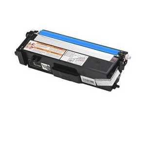 Compatible Brother TN315C Cyan toner cartridge, High Yield, 3500 pages
