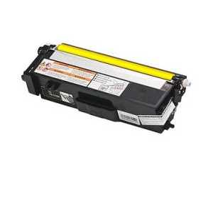 Compatible Brother TN315Y Yellow toner cartridge, High Yield, 3500 pages