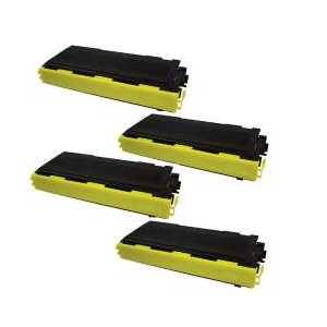 Compatible Brother TN350 toner cartridges, 4 pack