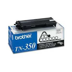 Brother TN350 Black genuine OEM toner cartridge