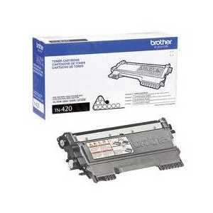 Original Brother TN420 Black toner cartridge, 1200 pages