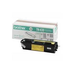 Original Brother TN430 Black toner cartridge, 3000 pages