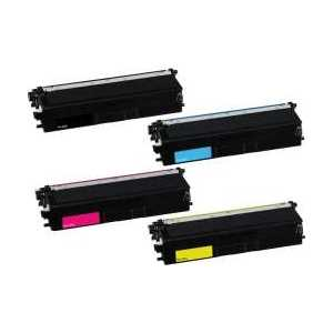 Compatible Brother TN433 toner cartridges, High Yield, 4 pack