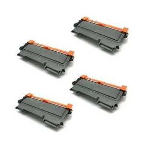 Compatible Brother TN450 toner cartridges, Jumbo Yield, 4 pack