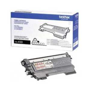 Original Brother TN450 Black toner cartridge, High Yield, 2600 pages