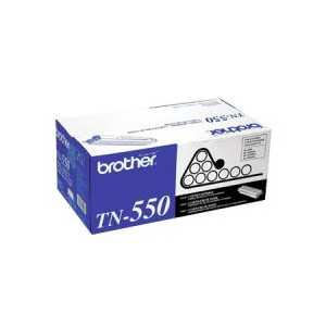 Original Brother TN550 Black toner cartridge, 3500 pages