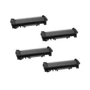 Compatible Brother TN730 toner cartridges, 4 pack