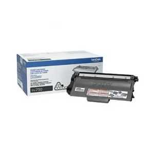 Original Brother TN750 Black toner cartridge, High Yield, 8000 pages