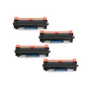 Compatible Brother TN760 toner cartridges, High Yield, 4 pack