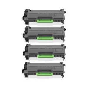 Compatible Brother TN850 toner cartridges, High Yield, 4 pack