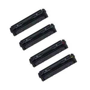 Compatible Canon 045H toner cartridges, High Yield, 4 pack