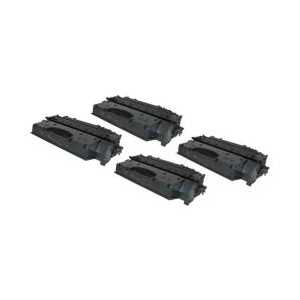 Compatible Canon 119 II toner cartridges, High Yield, 4 pack