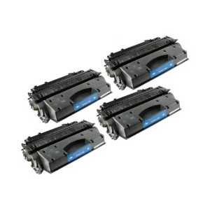 Compatible Canon 119 toner cartridges, 4 pack