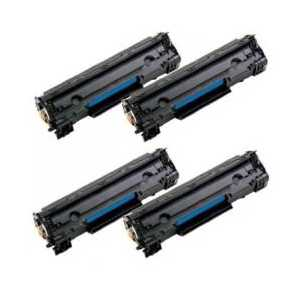 Canon 125 Black remanufactured toner cartridges - 3484B001AA - 4 pack