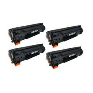 Remanufactured Canon 126 toner cartridges, 4 pack