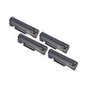 Remanufactured Canon 137 toner cartridges, 4 pack