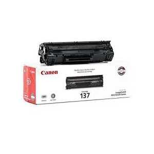 Original Canon 137 Black toner cartridge, 9435B001AA, 2400 pages