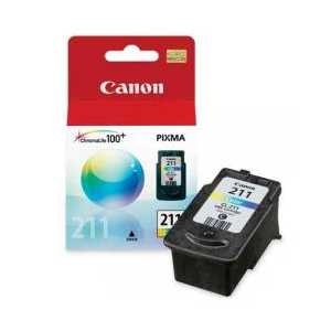 Canon CL-211 Color genuine OEM ink cartridge - 2976B001