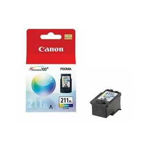 Original Canon CL-211XL Color ink cartridge, High Yield, 2975B001