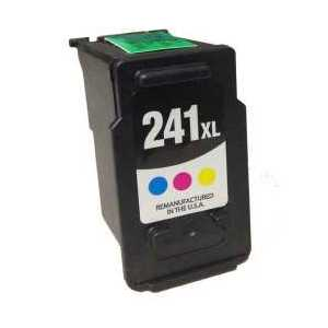 Remanufactured Canon CL-241XL Color ink cartridge, High Yield
