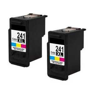 Remanufactured Canon CL-241XL ink cartridges, 2 pack