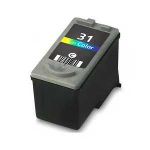 Remanufactured Canon CL-31 Color ink cartridge