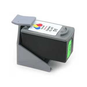 Remanufactured Canon CL-51 Color ink cartridge