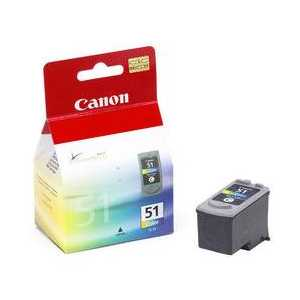 Canon CL-51 Color genuine OEM ink cartridge - 0618B002