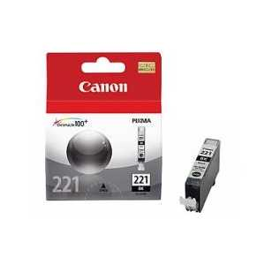 Original Canon CLI-221BK Black ink cartridge, 2946B001