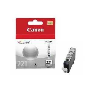 Original Canon CLI-221GY Gray ink cartridge, 2950B001