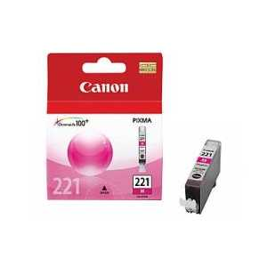Original Canon CLI-221M Magenta ink cartridge, 2948B001