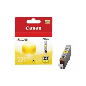 Original Canon CLI-221Y Yellow ink cartridge, 2949B001