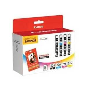 Multipack - Canon CLI-226 genuine OEM ink cartridges - 4546B007 - 4 pack