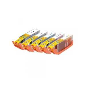 Compatible Canon CLI-251 XL, PGI-250 XL ink cartridges, 5 pack