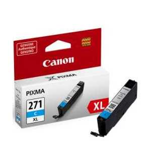 Original Canon CLI-271C XL Cyan ink cartridge, High Yield
