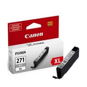 Original Canon CLI-271GY XL Gray ink cartridge, 0340C001